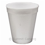 Foam Cup White - 8.5 Oz.