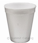 White Retail Pack Foam Cup - 16 oz.