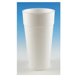White Foam Cup - 24 oz.