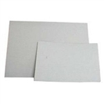 Plain Corrugated Quarter Sheet Scalloped White Cake Pad