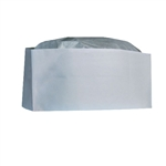 Overseas Plain Paper White Cap