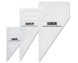 Hdpe Clear Disposable Pastry Bag - 12 in.
