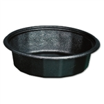 Smart Set Base Microwave Safe Black - 7.25 in. x 2 in.