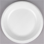 Elite Plate Foam White Laminated - 10.25 in.