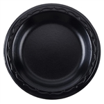 Plate Foam Black Laminated - 6 in.