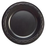 Plate Foam Black Laminated - 8.88 in.