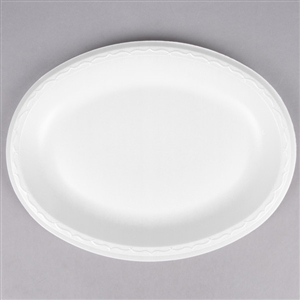 Elite Platter White - 8.5 in. x 11.5 in.