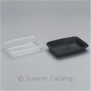 Polypropene Microwave Safe Plastic Container - 8.75 in.