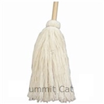 Deck Mop With Handle Cotton 4-Ply - 24 oz.