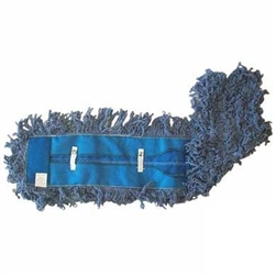 Blue Looped-End Dustmop Mop Refill - 5 in. x 36 in.