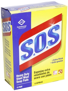 S.O.S Steel Wool Soap Pad