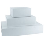 White Lock Corner Bakery Box - 10 in. x 10 in. x 5 in.