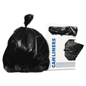 LLDEP Can Liner .35 Mil Black - 12-16 Gal.