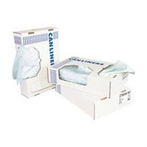 White Low Density Flat Pack Can Liner - 24 in. x 32 in.