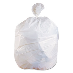Heritage Bag Extra Heavy Can Liner 8 Mil White- 33 in. x 39 in.
