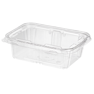 Hinged Tear Strip Deli Tub - 7.38 in. x 5.63 in. x 2.31 in.