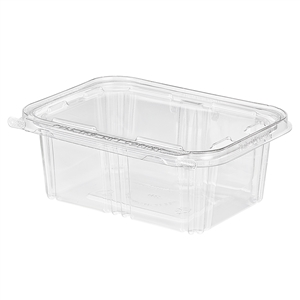 Tear Strip Deli Tub Hinged - 32 oz.