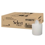 Select Choice White 2 Ply Centerpull Roll Towel - 8 in. x 600 ft.