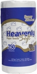 Heavenly Soft White Kitchen Roll Towel - 11 in. x 7.9 in.