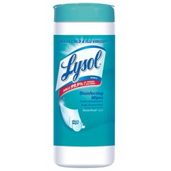Lysol Sanitizing Wipes Ocean Fresh Scent