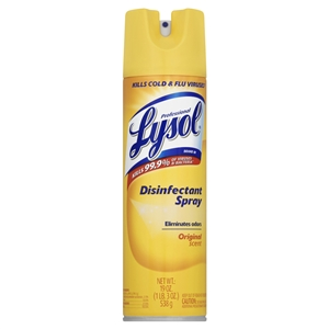 Lysol Original Scent Disinfectant Spray - 19 oz.