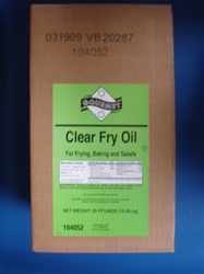 Clear Fry Oil