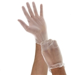Small Natural General Purpose Vinyl Gloves