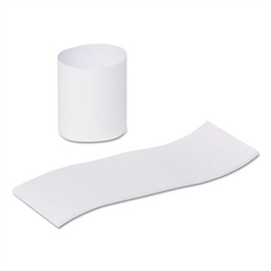 White Paper Napkin Bands Self Stick - 1.5 in. x 4.25 in.