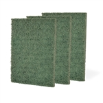 Medium Duty Scouring Pad Green - 3.5 in. x 5 in.