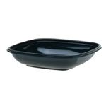Square Bowl Pet Large Black - 32 oz.