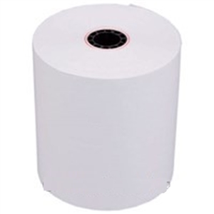 White Receipt Bonded Paper - 3 in. x 165 ft.