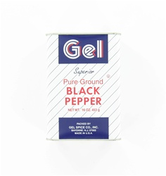 Pure Ground Black Pepper