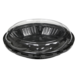 Tall Swirl Dome and Black Base for 9 in. Pie