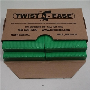 Twist-Ease Twist Tie Green - 4 in.