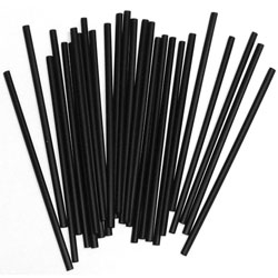 Stirrer Wrapped Black - 5.75 in.