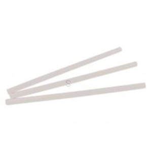 Giant Wrapped Clear Straws Plastic - 9 in.
