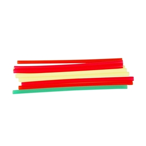 Assorted Neon Fat Straw - 8 in.