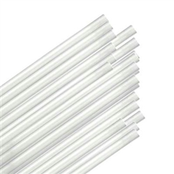Giant Straw Clear Unwrapped - 7.75 in.