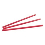 Red Wrapped Jumbo Straw - 10.25 in.