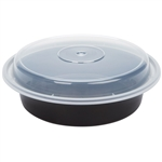 7 in - 23 oz Bowls and Lids Microwave safe and dishwasher safe