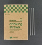 Unwrapped Drinking Straws