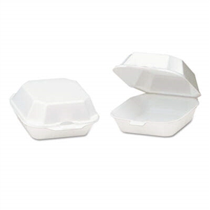 Medium Sandwich Foam Hinged Container