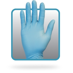 Nitrile Powder Free Medium Gloves Blue