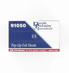 9x10.75 Inch Interfolded Foil Sheets