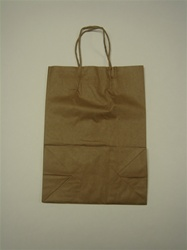 250ct Brown Paper Bag Hvy Duty with Handle (Small)