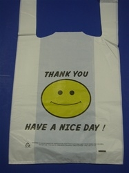 1/6 T-Shirt Thank You Bag Large Size 15 mic