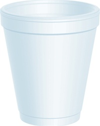 8oz Heavy Duty Foam Cups