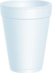 14oz Heavy Duty Foam Cups