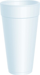 24oz Heavy Duty Foam Cups