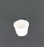 1oz Solo White Paper Portion Cups for Restaurants and Deli's